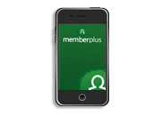 image of MemberPlus app on phone